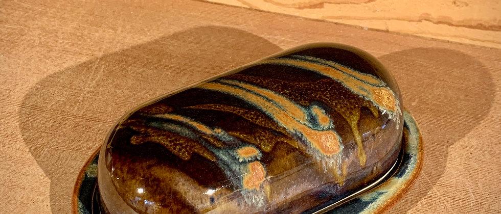 Cascadia Butter Dish - Goldstone
