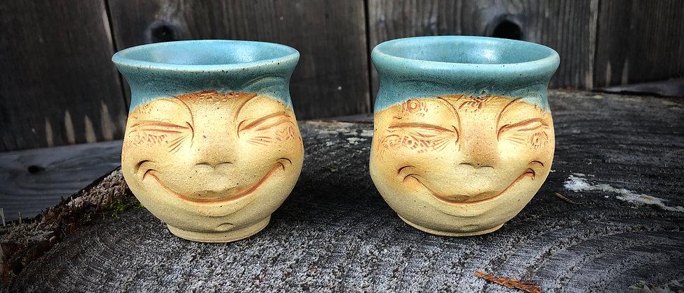 Debrah Wolf Set of Tea Cups