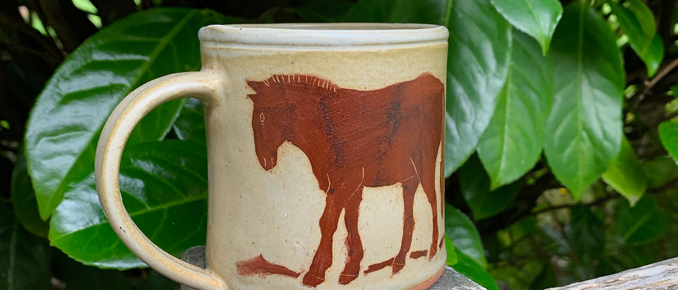 Paula Teplitz Horse Mug