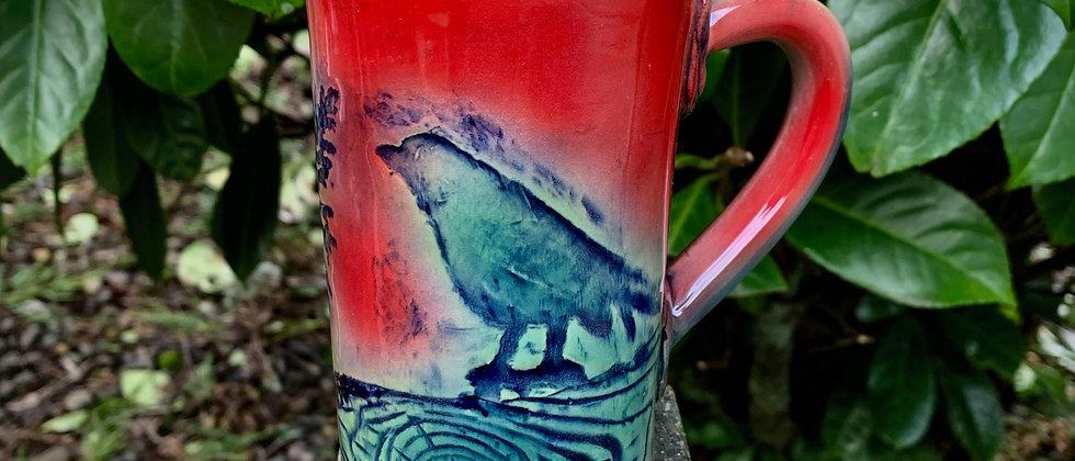 Dorothy Steele Mug - Red Bird