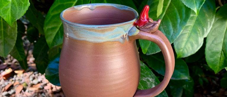 LaughinGnome Pottery Gnomie Mug