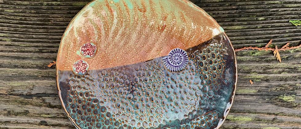 Scott Livesay Large Sea Plate #1