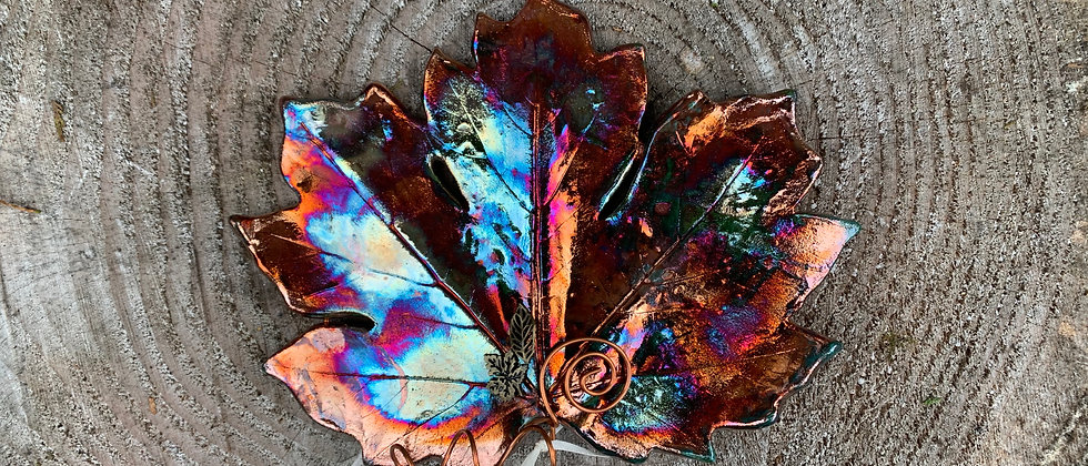 Terri Axness Hanging Wall Leaf