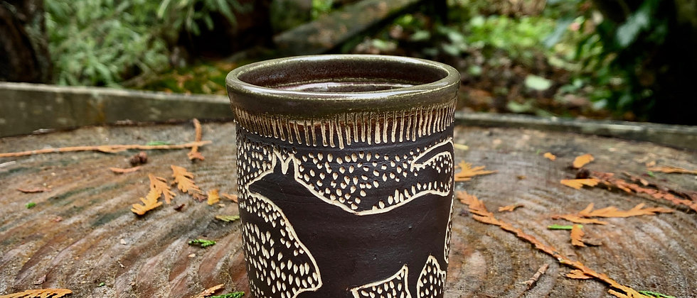 Paula Teplitz Dog Cup