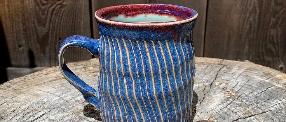 Janet Buskirk Purple Mug #10