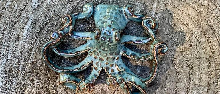 Scott Livesay Octopus - Blue