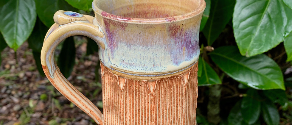 Cross Creek Clay Faceted Mug #10