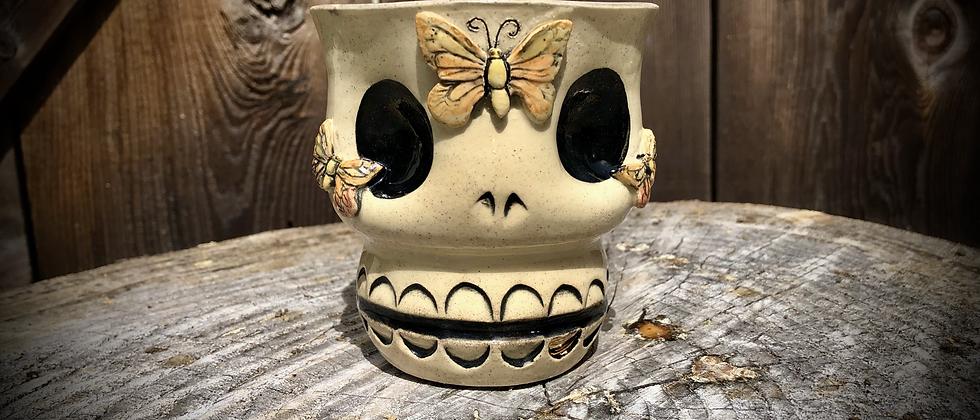 Diana Rose Ryan Skully Mug - Butterfly