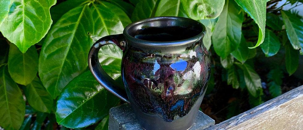 Cascadia Small Round Mug - Black Galaxy