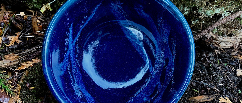 Cascadia Stoneware Ceral Bowl - Midnight Blue #1
