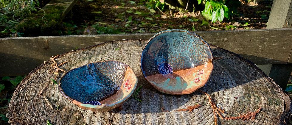 Scott Livesay Set of Small Bowls