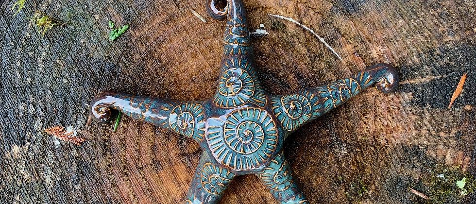Scott Livesay Medium Starfish - Blue