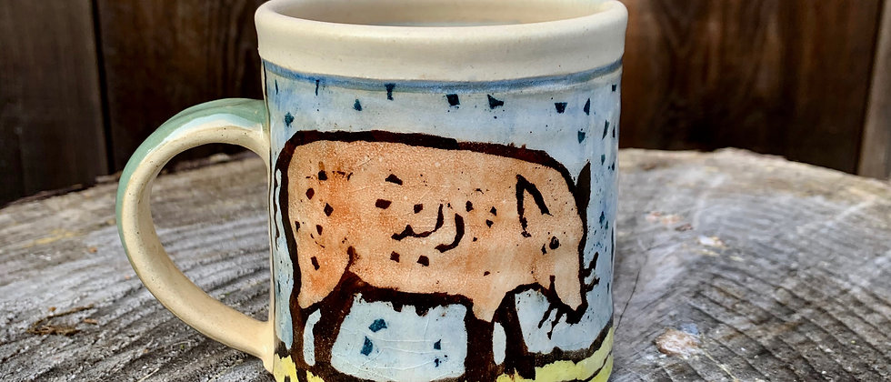 Paula Teplitz Wild Boar Mug