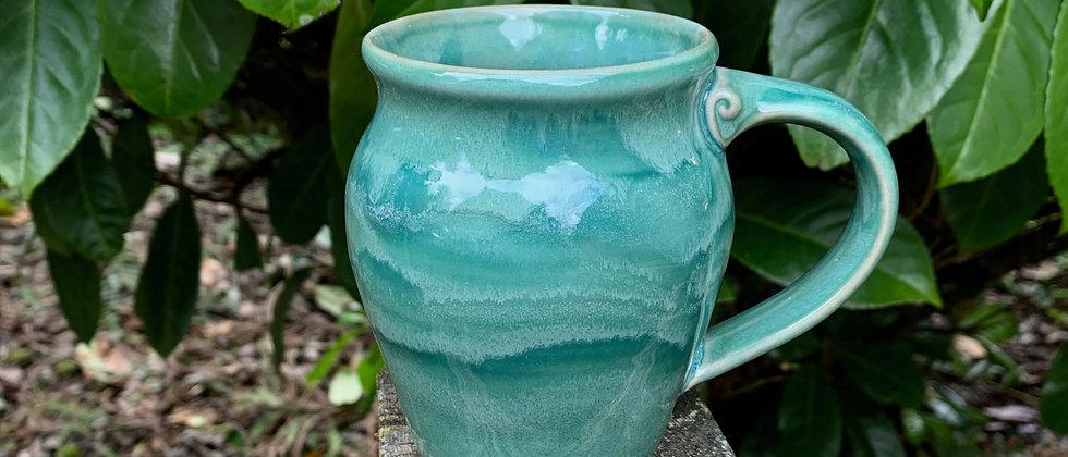 Cascadia Small Round Mug - Seafoam