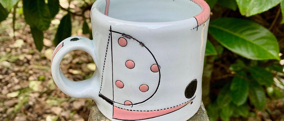 Jim Koudelka Pink Mug #2