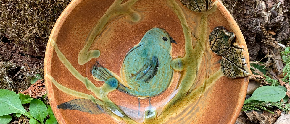 Elaine Wall Bird Bowl #1