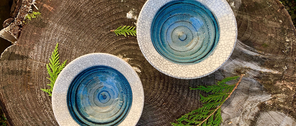 Ray Foster Set of Crackle Bowls #2