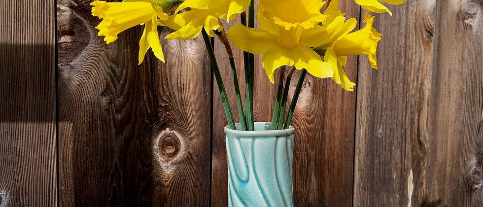 Linda Heisserman Green Vase