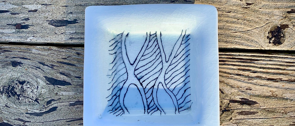 Linda Heisserman Square Plate