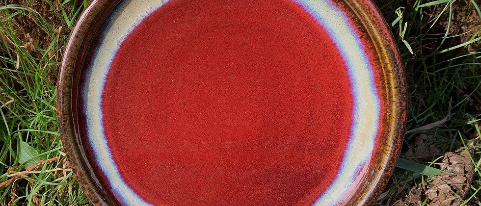 Blue Spruce Dessert Platter -Red #1