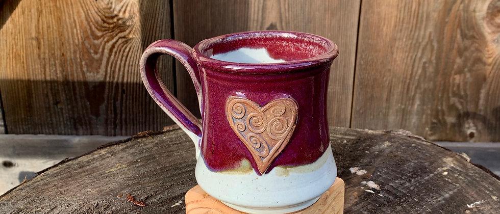Rabun Thompson Purple Heart Mug #4
