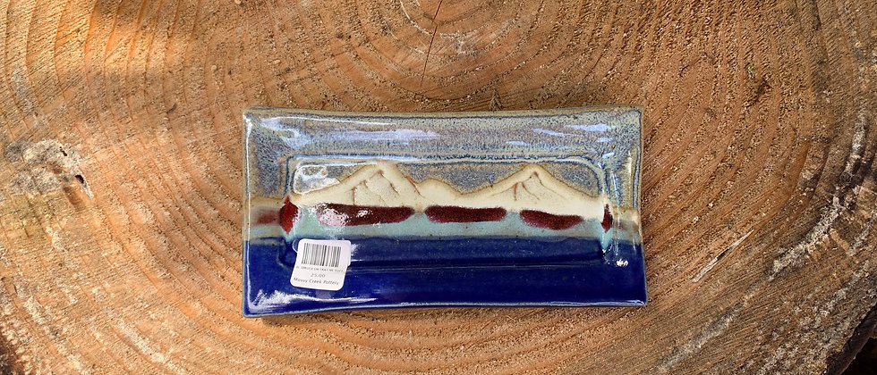 Blue Spruce Small Tray - Lake
