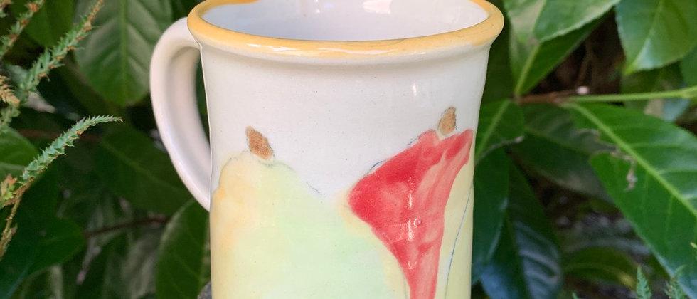 Merry Newcomer Pear Mug