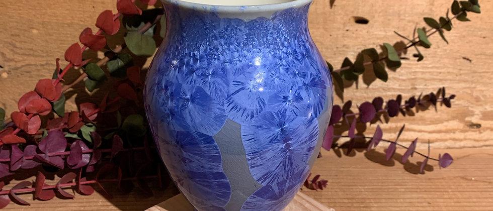 Ha Austin Crystalline Vase