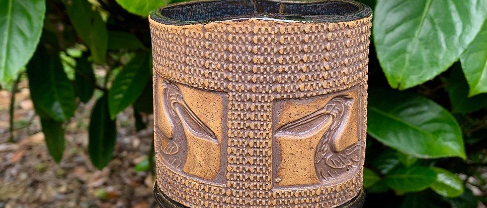 Tom Bottman Pelican Pencil Jar