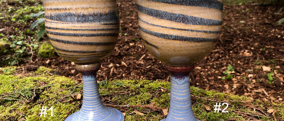 Cross Creek Clay Goblets