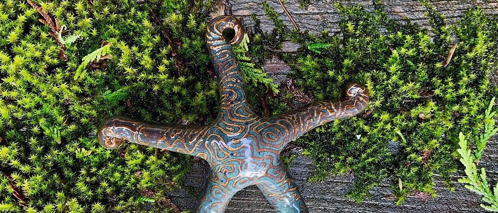 Scott Livesay Small Starfish - Blue