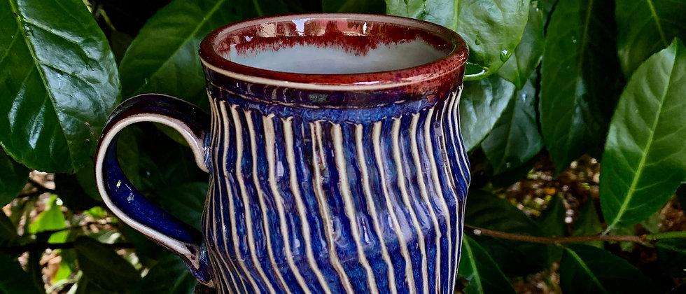 Janet Buskirk Striped Mug #2