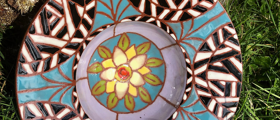 Merry Newcomer Mosaic Bowl