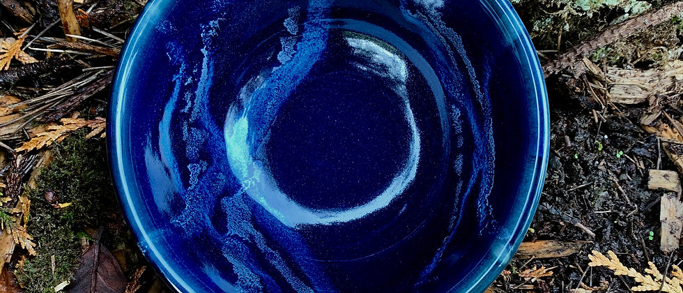 Cascadia Stoneware Ceral Bowl - Midnight Blue #2
