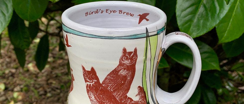 Jim Koudelka Bird's Eye Brew Mug #4