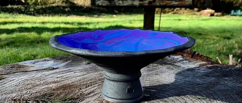 Patrick Horsley Footed Bowl - Blue