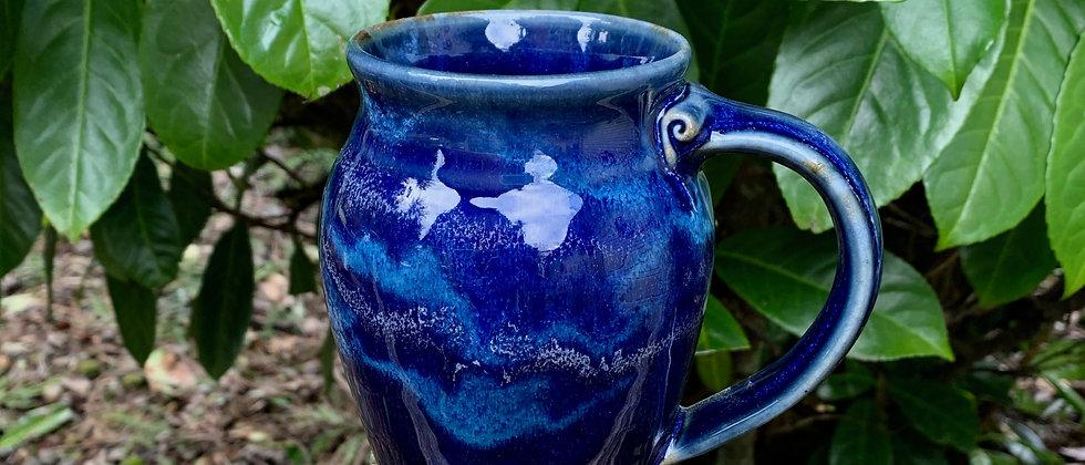 Cascadia Large Round Mug - Midnight Blue