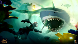 Sea Of Thieves - Shark Attack
