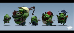 Angry Birds Designs