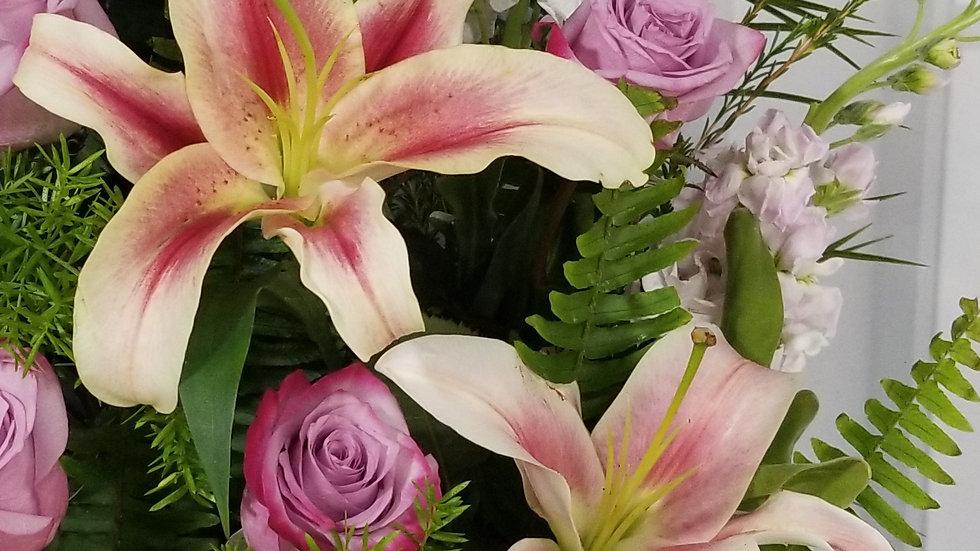 Oriental Lilies Pink 60 stems Per Box