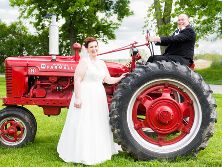 Monica and Shawn - May 24, 2019, Cobblestone Wedding Barn, Avon