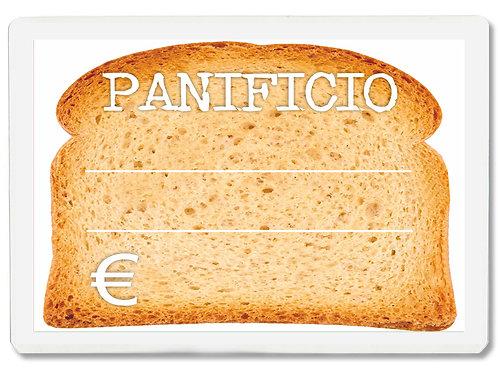 Segnaprezzi GRANDE PANIFICIO PANETTERIA Plastificato Scrivibile (conf. 12 pz.)