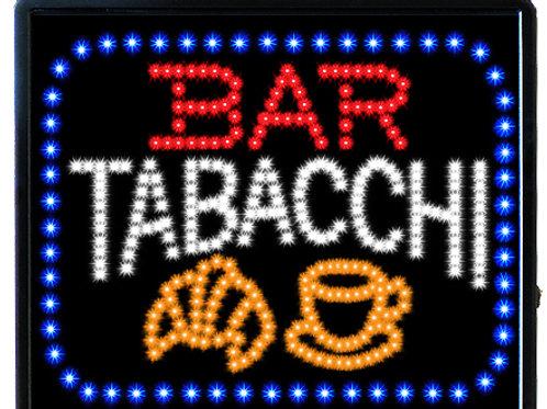 INSEGNA A LUCI LED - BAR TABACCHI  Misura cm. 53 x 45  Cod. LED-52