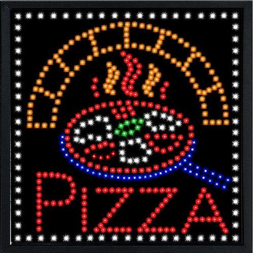 INSEGNA A LUCI LED - PIZZA (Forno)  Misura cm. 60 x 60 - Cod. LED-C32