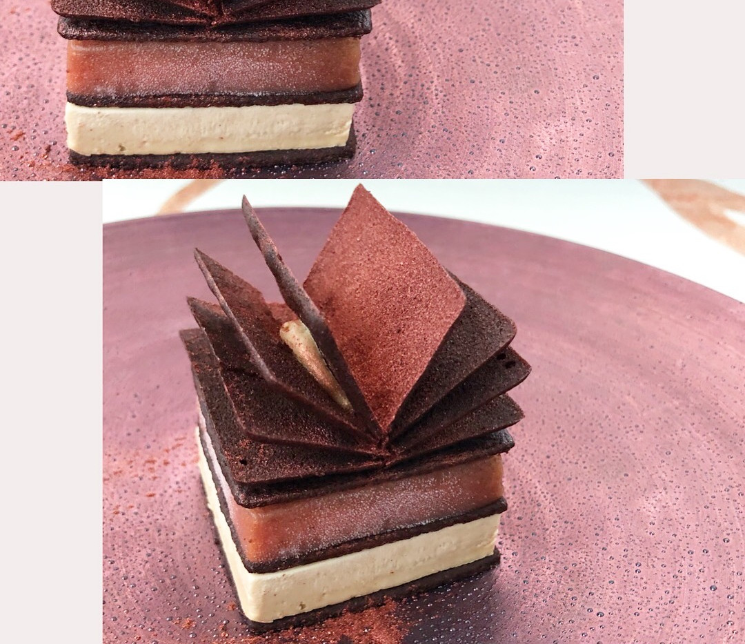 Fig and Caramelized White Chocolate