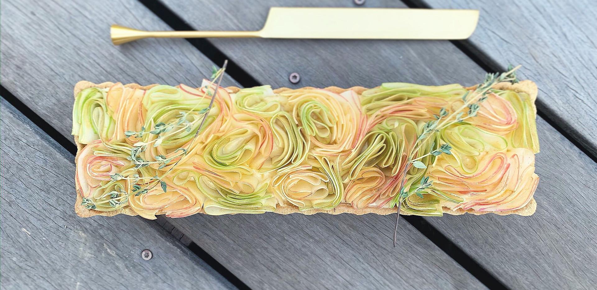 Rosemary-Thyme Apple Tart