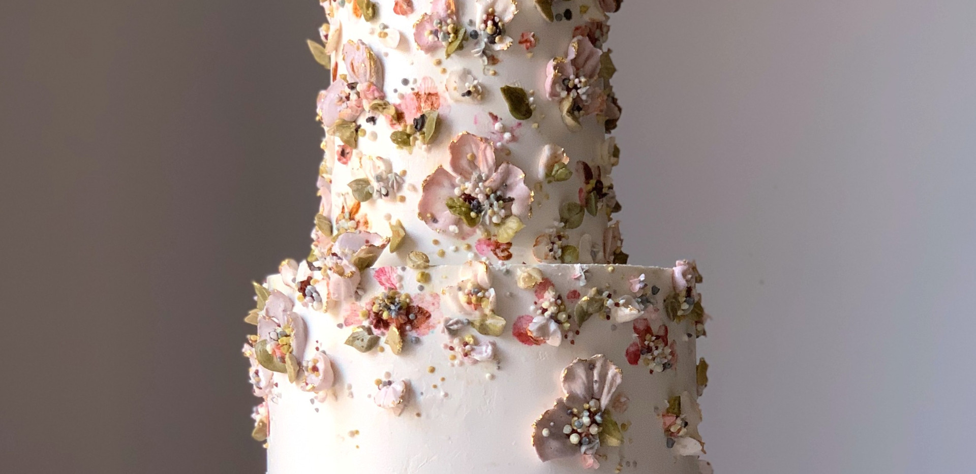 Brown Butter and Salted Caramel Wedding Cake
