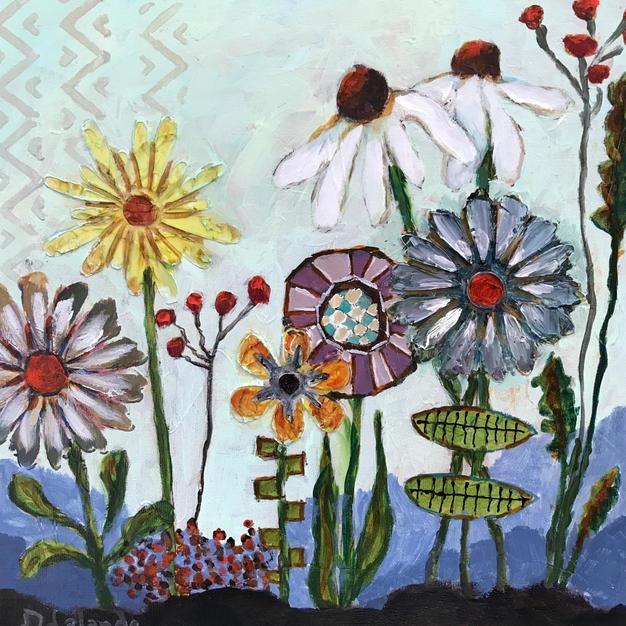 Whimsical Flowers II