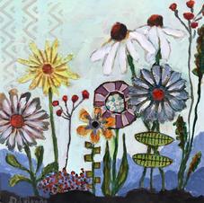 Whimsical Flowers I