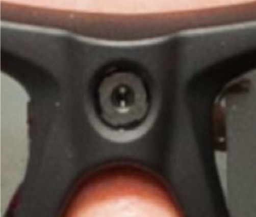 Camera technology embedded in glasses